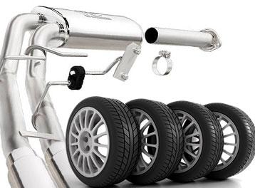 Exhaust & Tires: